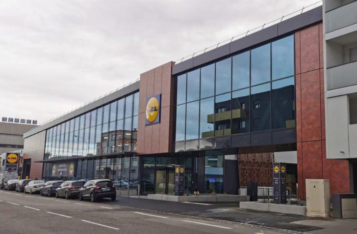 Construction d'un magasin LIDL à STRASBOURG-MEINAU (67) – 2020