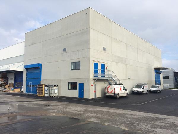Bâtiment Essai Hall 8 à HESINGUE (68) – 2015/2016