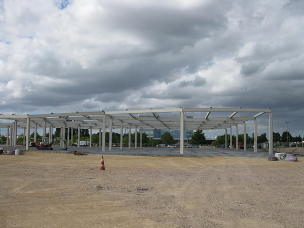 Retail Park à MONDEVILLE (14) – 2012/2013