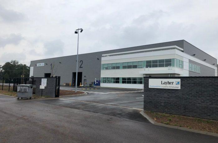 Construction d'un entrepôt et d'un nouveau siège régional LAYHER à SAINT-AVOLD (57) – 2019