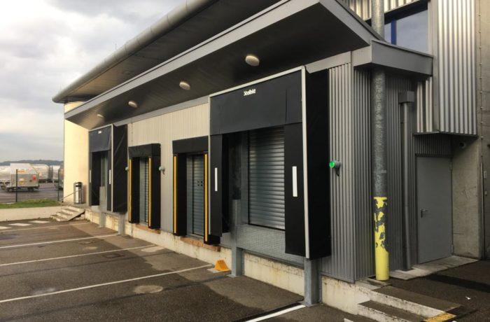 Construction d'un auvent pour UPS sur le site de l'Euroairport à Bâle-Mulhouse – 2020