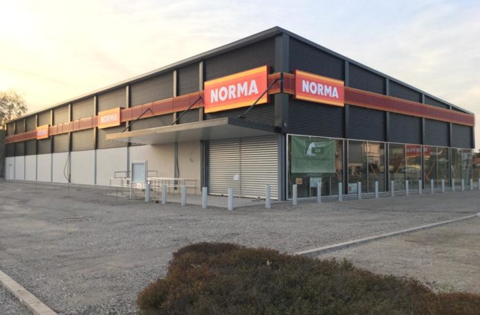 Construction d'un magasin NORMA à BRUMATH (67) – 2020