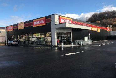 Construction d'un magasin NORMA à HERICOURT (70) – 2017