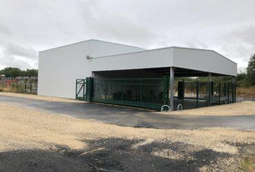 Construction d'un ensemble de bâtiments de stockage GSL à COURTALAIN – 2018