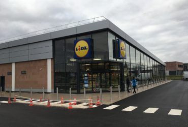 Construction d'un magasin LIDL à MOLSHEIM (67) – 2017