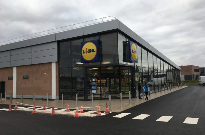 Construction d'un magasin LIDL à MOLSHEIM (67) – 2017