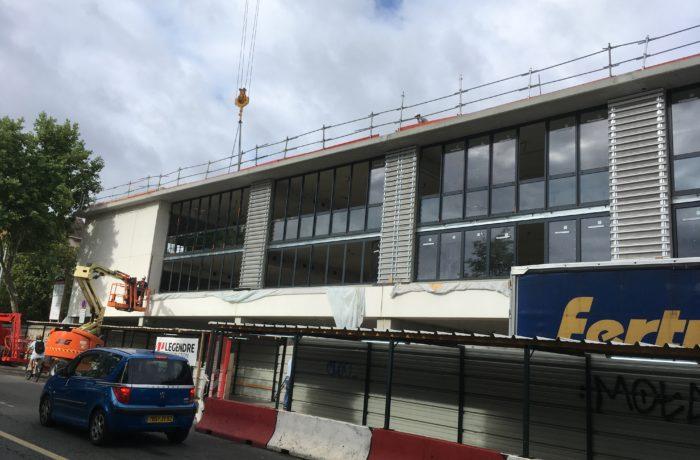 Extension et réhabilitation d'un institut à COLOMBES (92) – 2017/2018