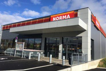 Construction d'un magasin NORMA à DIDENHEIM (68) – 2018