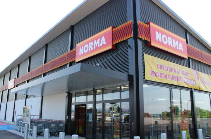 Construction d'un magasin NORMA à MITTELBRONN (57) – 2018