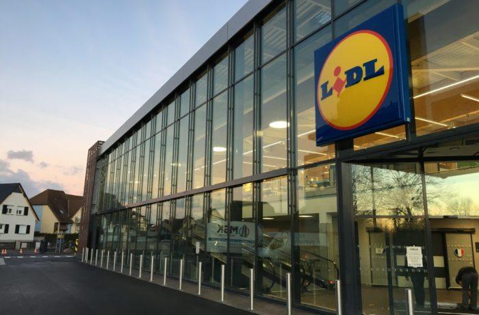 Construction d'un magasin LIDL à LINGOLSHEIM (67) – 2019
