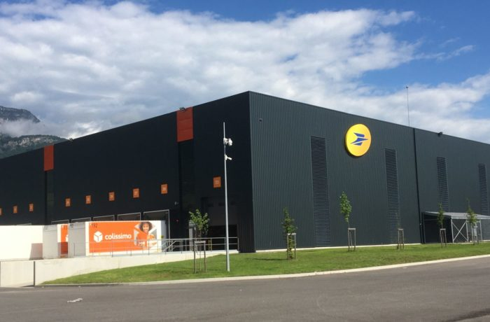 Construction d'une Plateforme de tri colis pour La Poste à La Buissière (38) – 2018