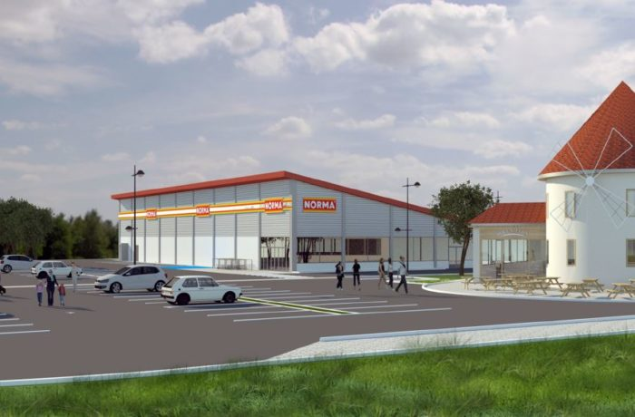 Construction d'un magasin NORMA à MITTELBRONN (57) – 2018