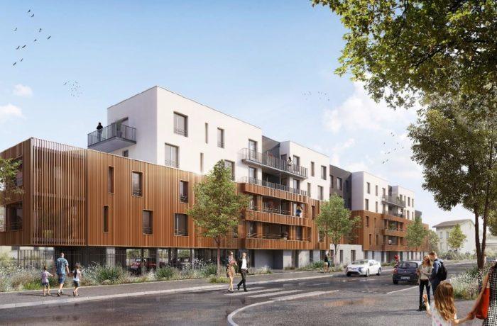 Construction de 52 logements Résidence ED'N GREEN à NANCY – 2020/2021